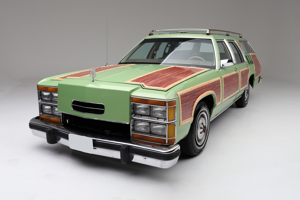 """1981 Ford LTD Station Wagon """"Family Truckster"""" 3/4 front"""