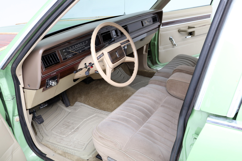 "1981 Ford LTD Station Wagon ""Family Truckster"" interior front"