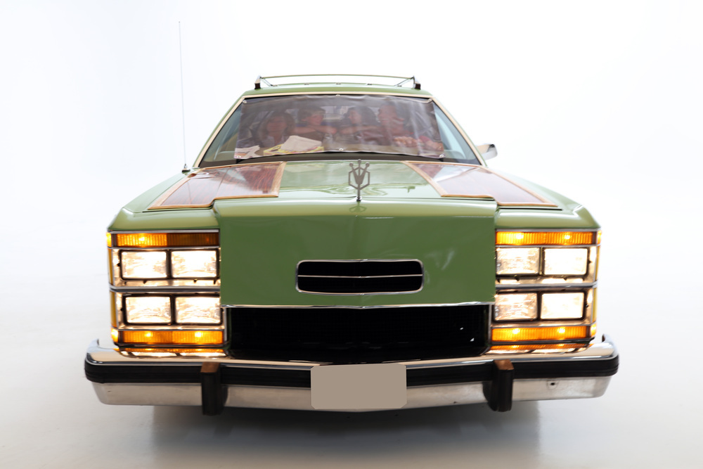"1981 Ford LTD Station Wagon ""Family Truckster"" front end"