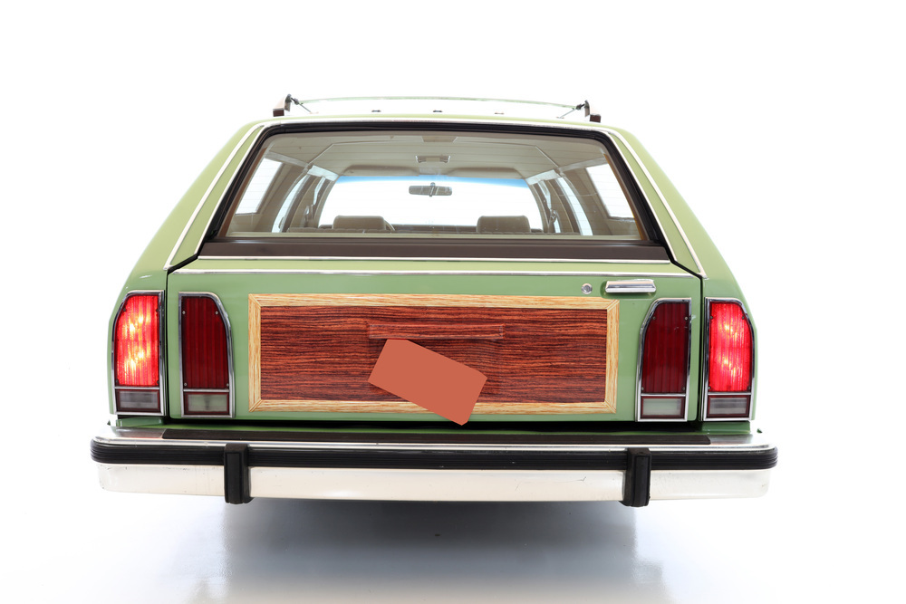 "1981 Ford LTD Station Wagon ""Family Truckster"" rear"