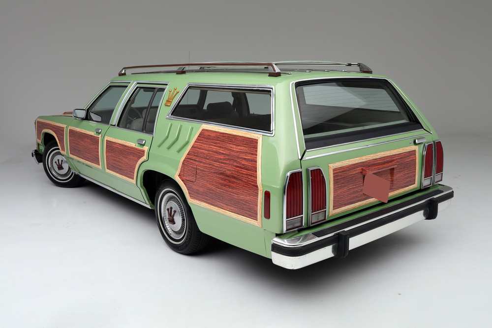 "1981 Ford LTD Station Wagon ""Family Truckster"" 3/4 rear"