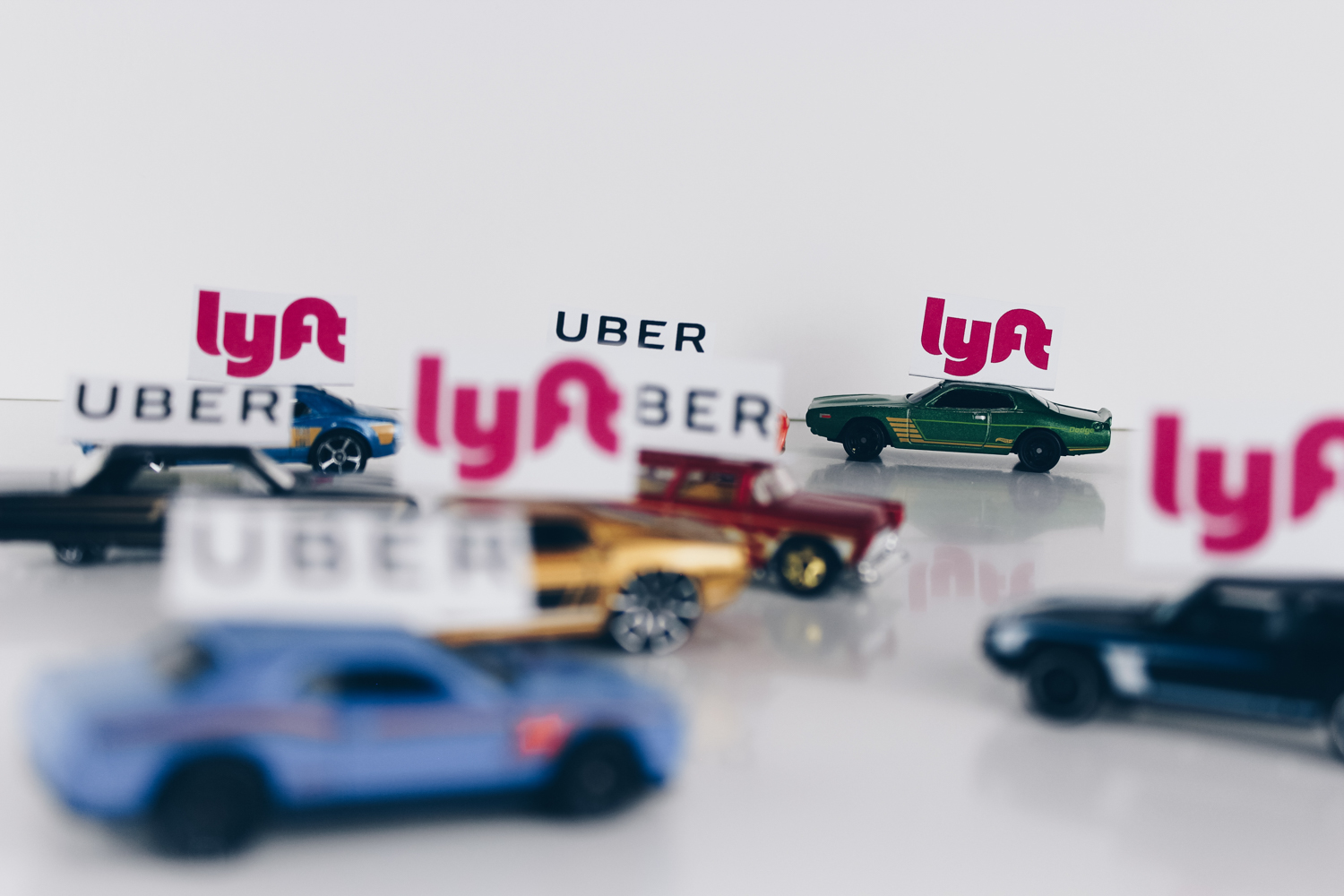 Avoidable contact ride sharing  uber lyft