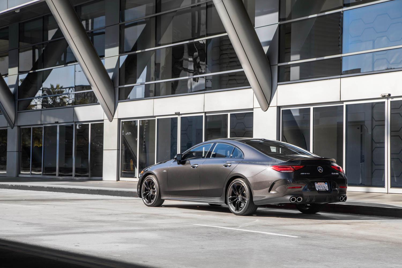 2019 Mercedes-AMG CLS53 rear 3/4