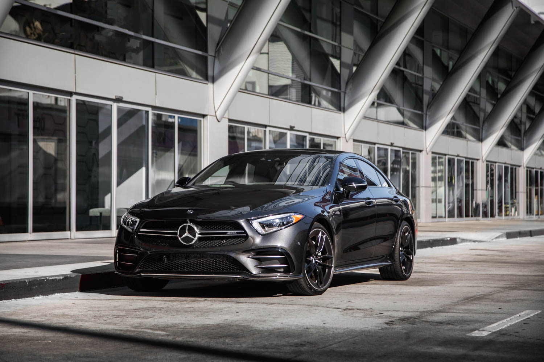 black 2019 Mercedes-AMG CLS53