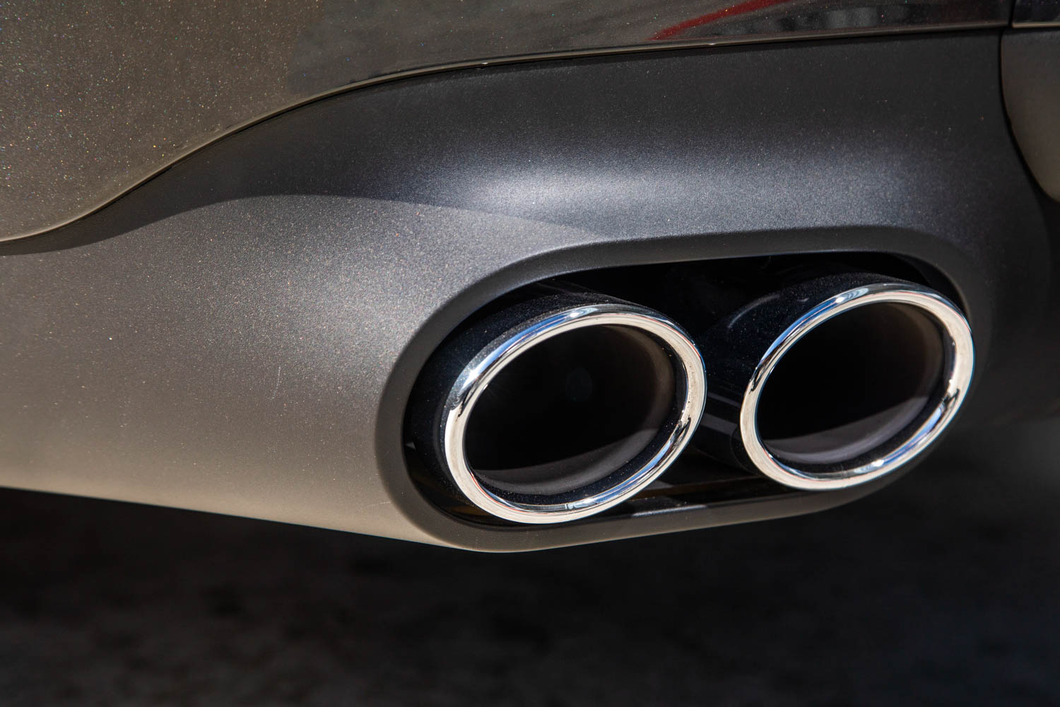 2019 Mercedes-AMG CLS53 exhaust tips