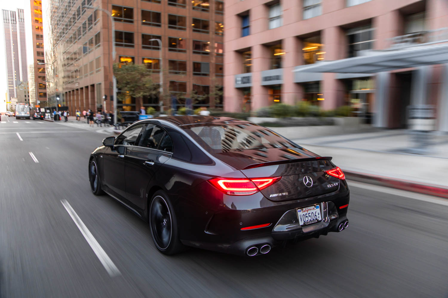 2019 Mercedes-AMG CLS53 rear 3/4 driving