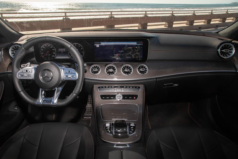 2019 Mercedes-AMG CLS53 dashboard