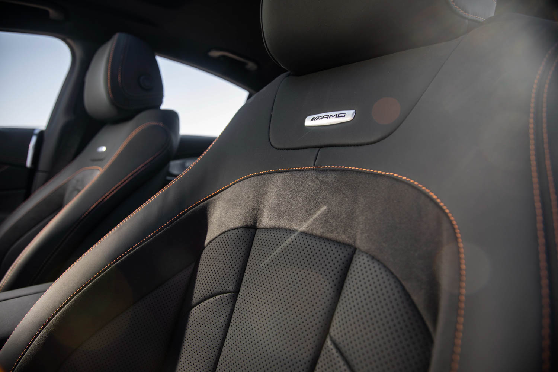 2019 Mercedes-AMG CLS53 seat detail