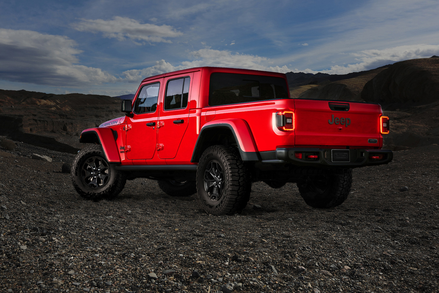2020 Jeep Gladiator Launch Edition 3/4 rear