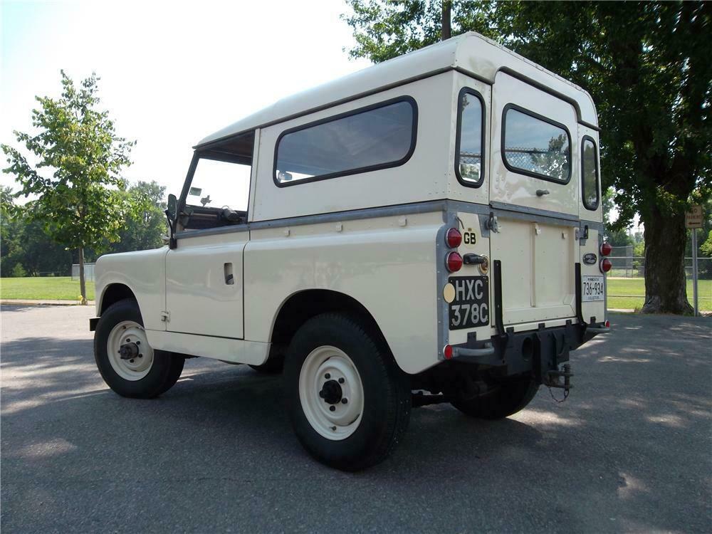 1965 Land Rover Series IIA 3/4 rear