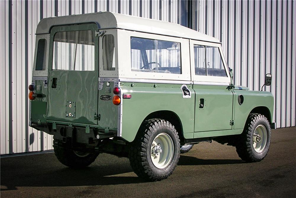 1971 Land Rover Series IIA 3/4 rear