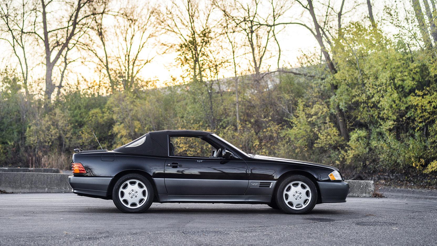 1995 Mercedes-Benz SL 600 side profile