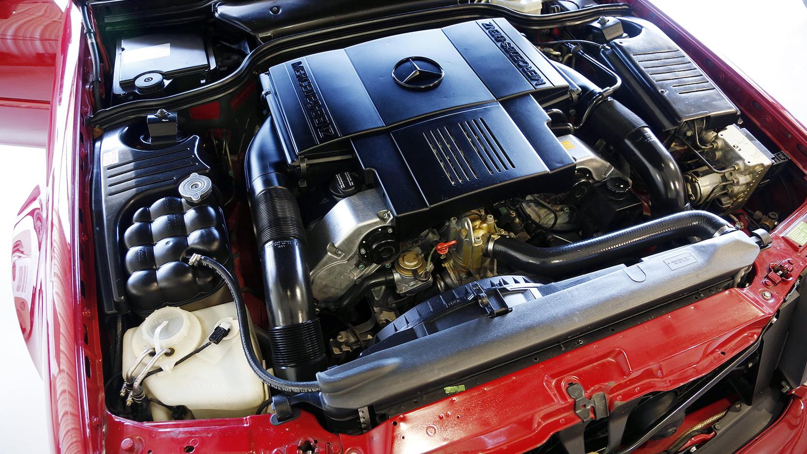 1996 Mercedes-Benz SL 500 engine