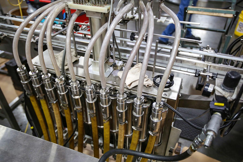 Synthetic Oil bottling line