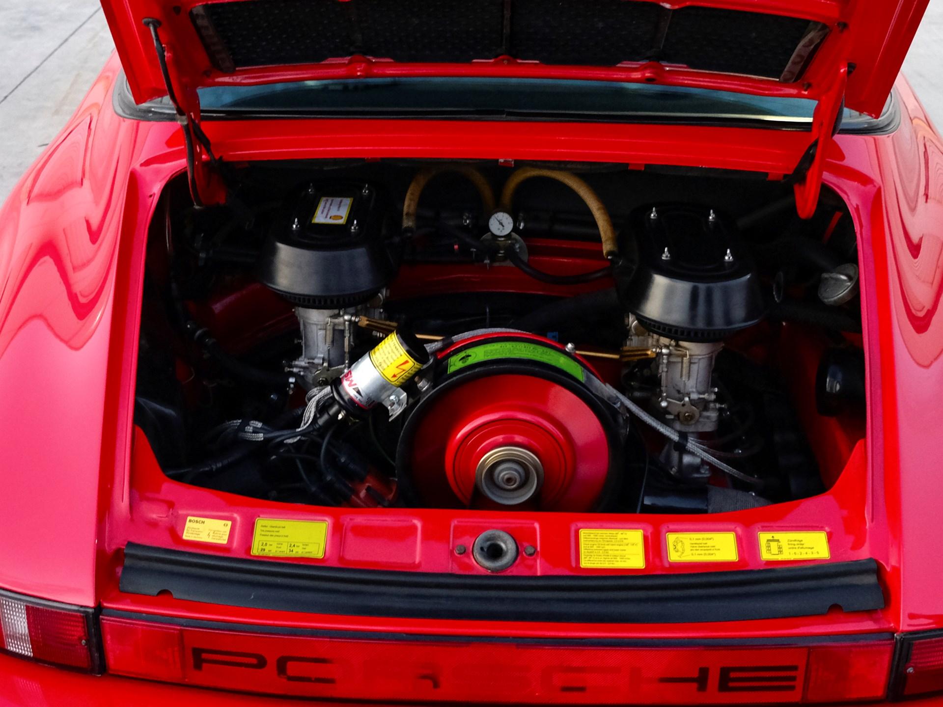 1980 Porsche 911 SC Targa engine