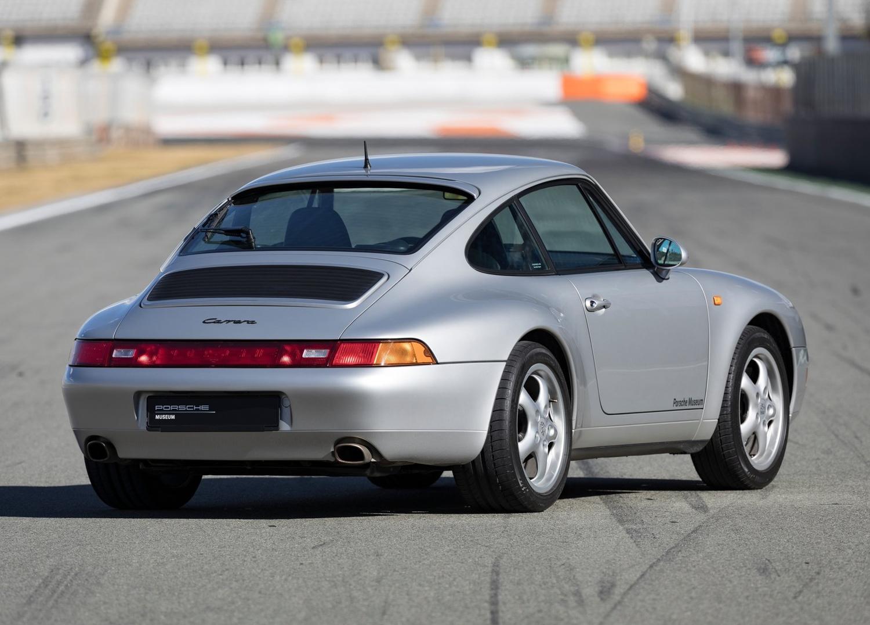 1997 Porsche 911 Carrera 3/4 rear