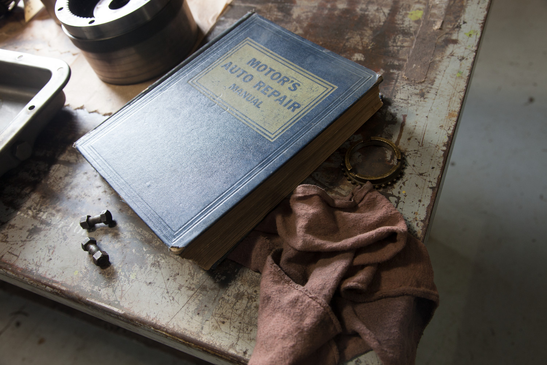 Old repair manual