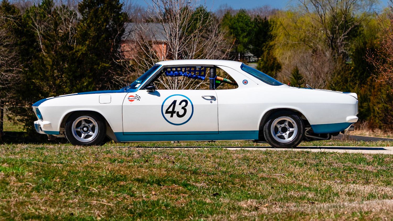 1966 Chevrolet Corvair Yenko Stinger side