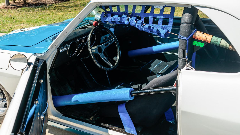 1966 Chevrolet Corvair Yenko Stinger driver interior