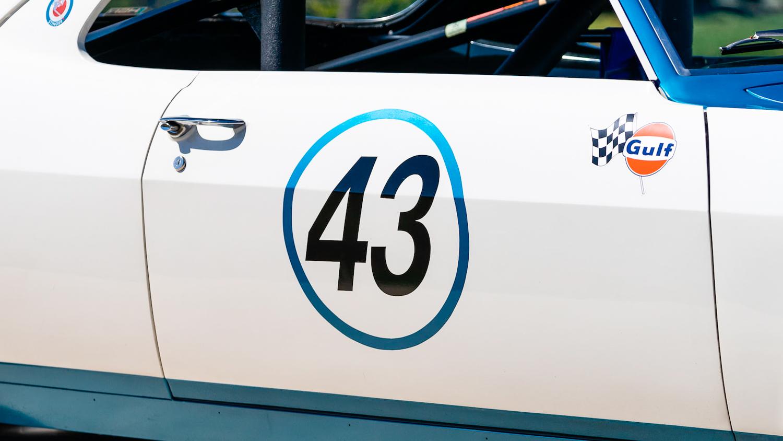 1966 Chevrolet Corvair Yenko Stinger side number