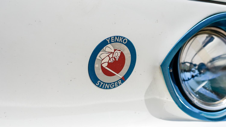 1966 Chevrolet Corvair Yenko Stinger badge