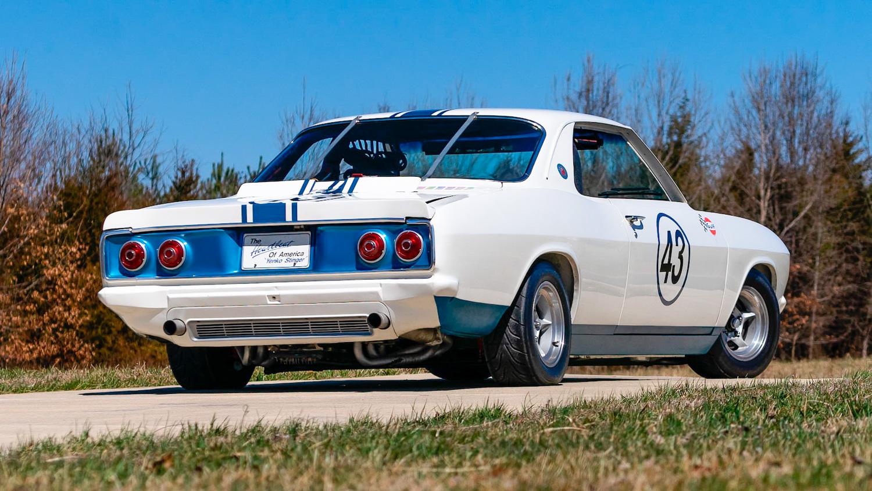 1966 Chevrolet Corvair Yenko Stinger 3/4 rear