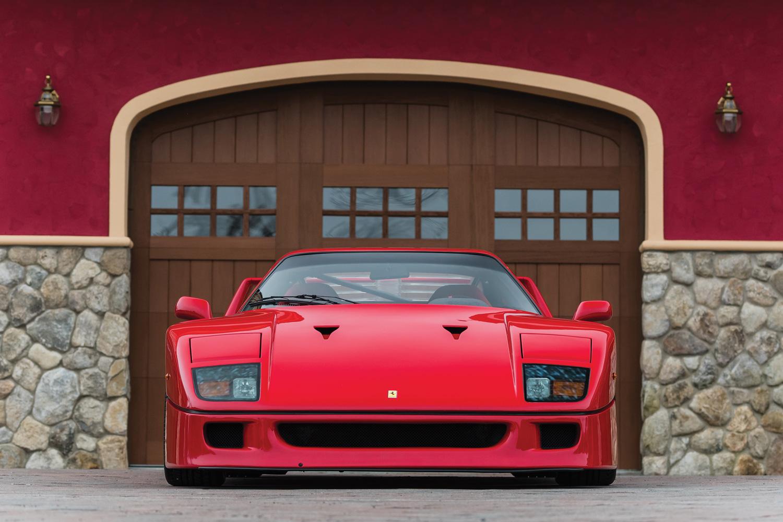 1992 Ferrari F40 nose
