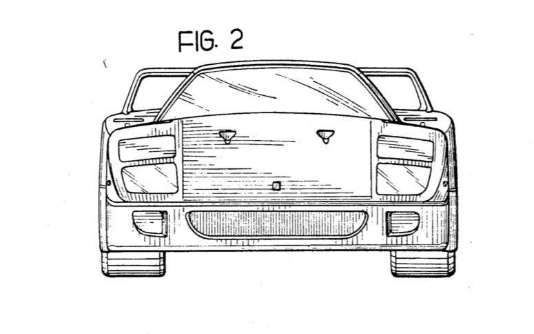 Ferrari F40 front
