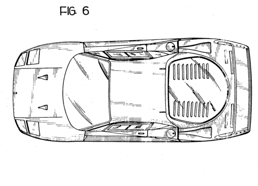 Ferrari F40 top