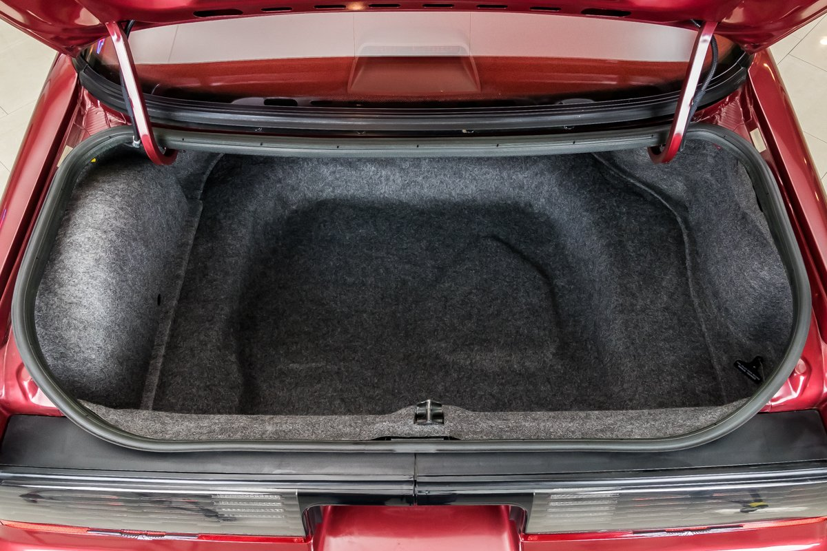 1987 Ford Thunderbird Turbo Coupe trunk