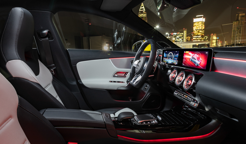 2020 Mercedes-AMG CLA 35 interior passenger