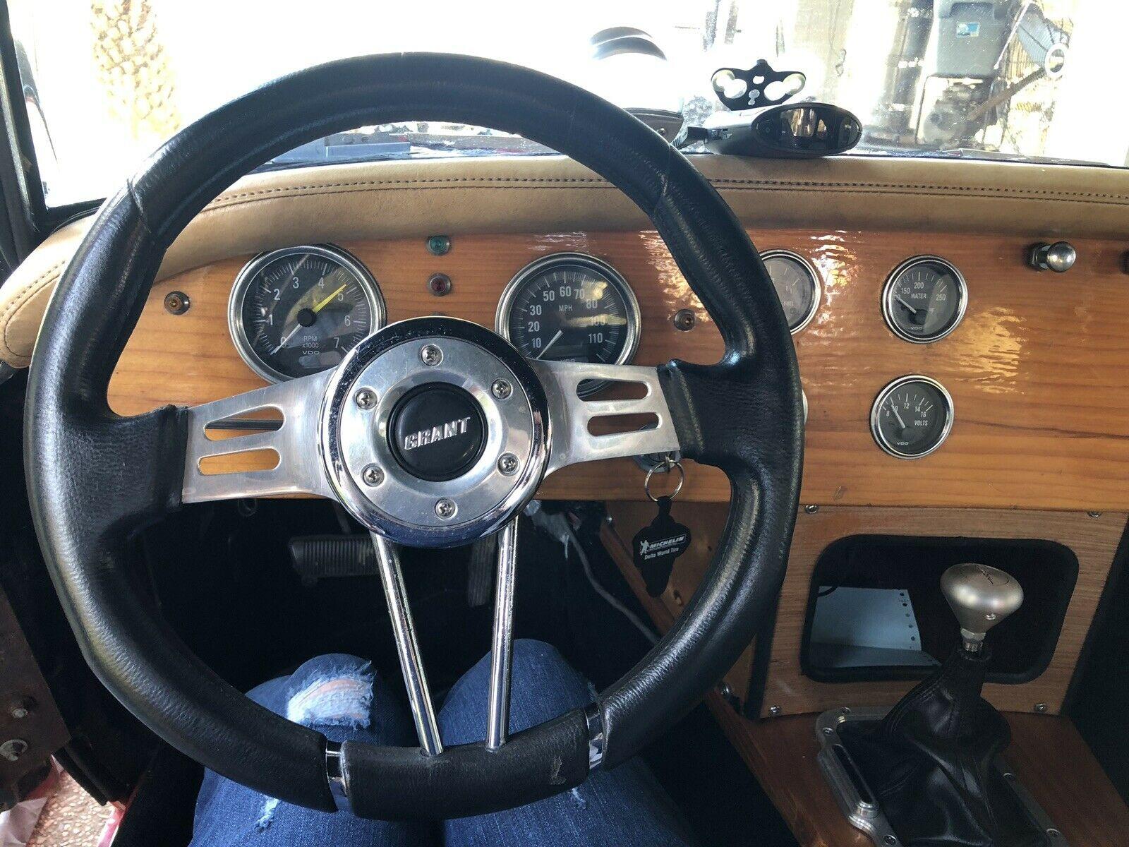 1962 Austin Healey 3000 steering wheel