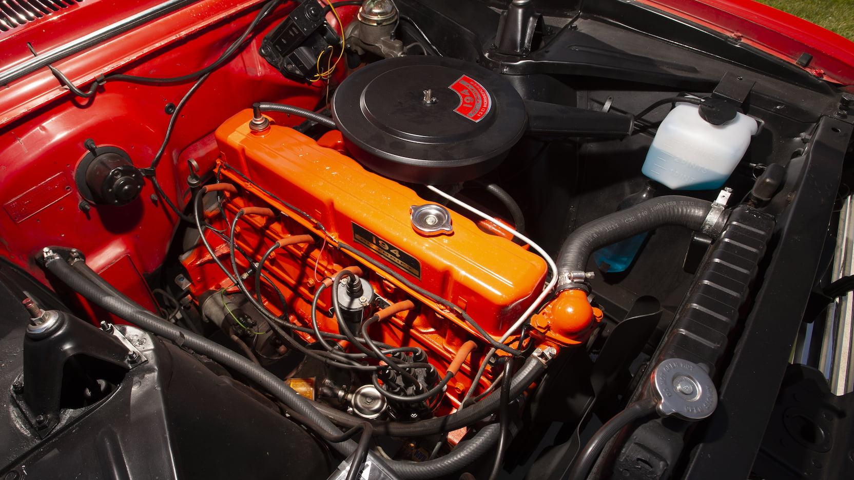 1962 Chevrolet Chevy II Nova 400 engine