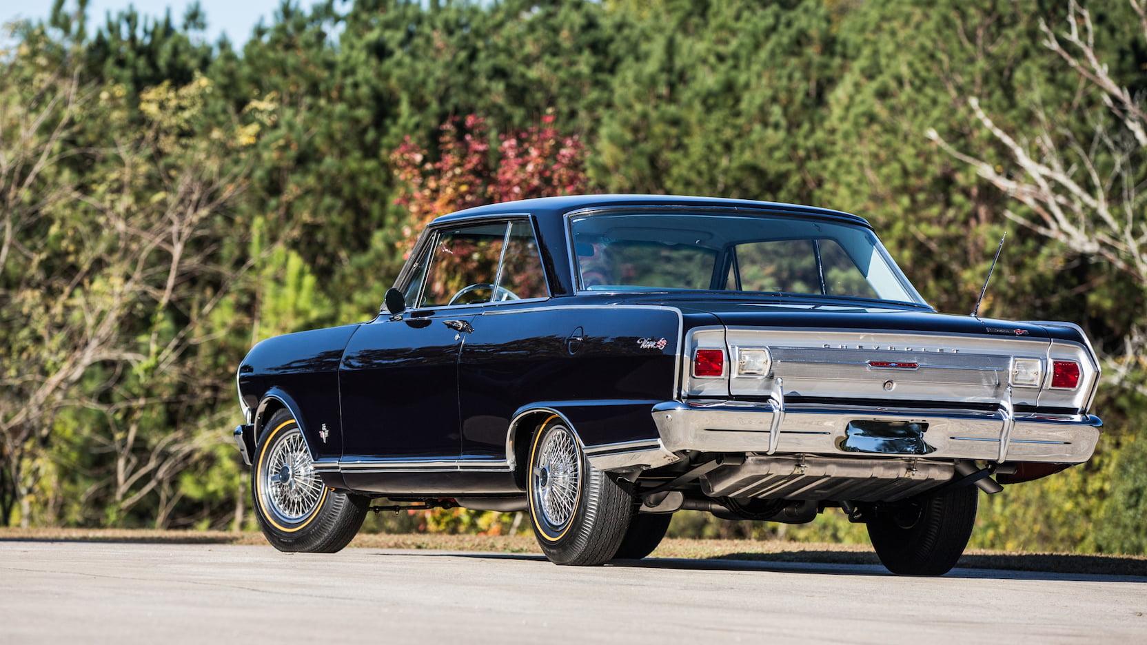 1965 Chevrolet Nova SS 3/4 rear
