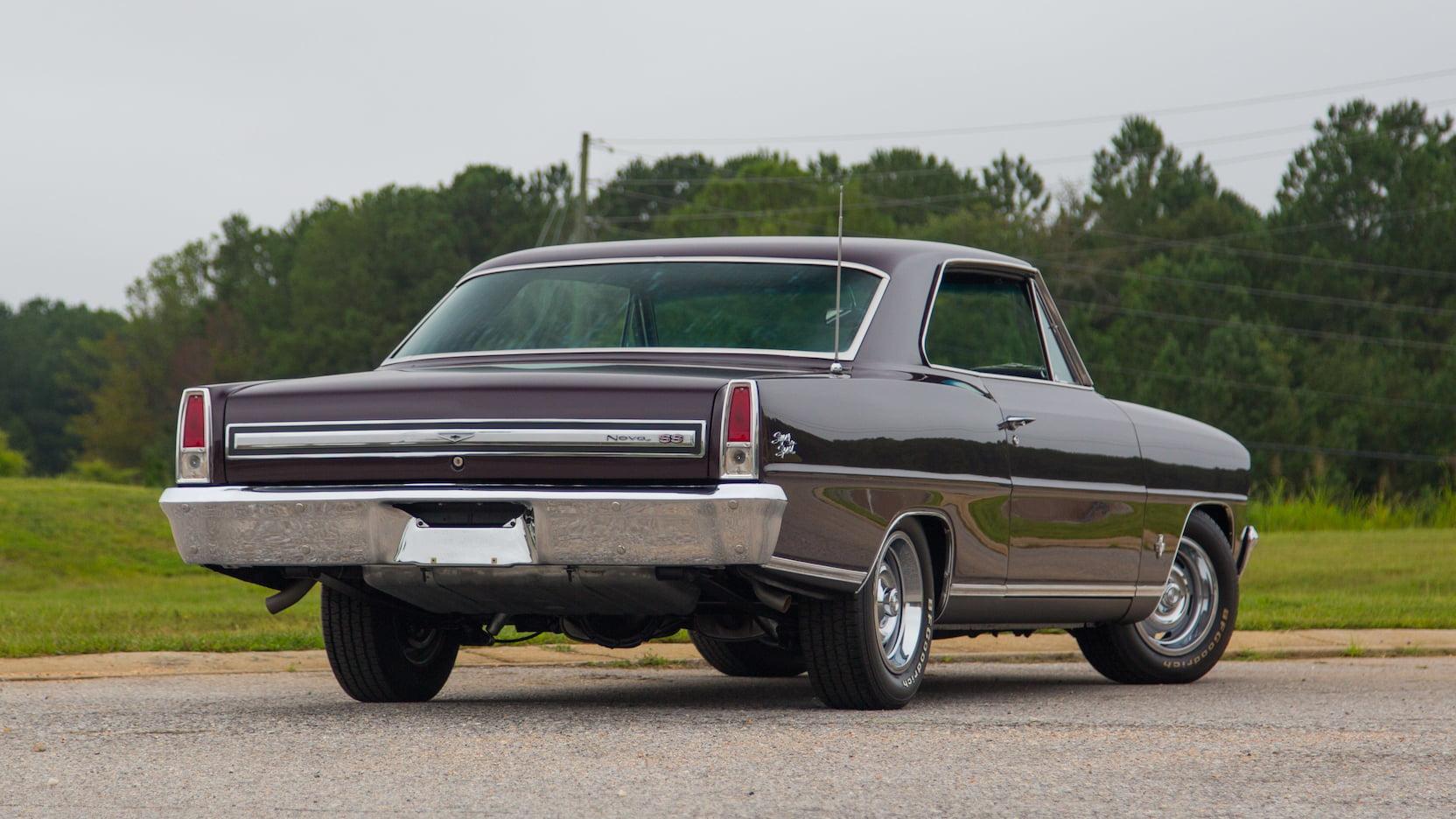 1967 Chevrolet Nova SS 3/4 rear