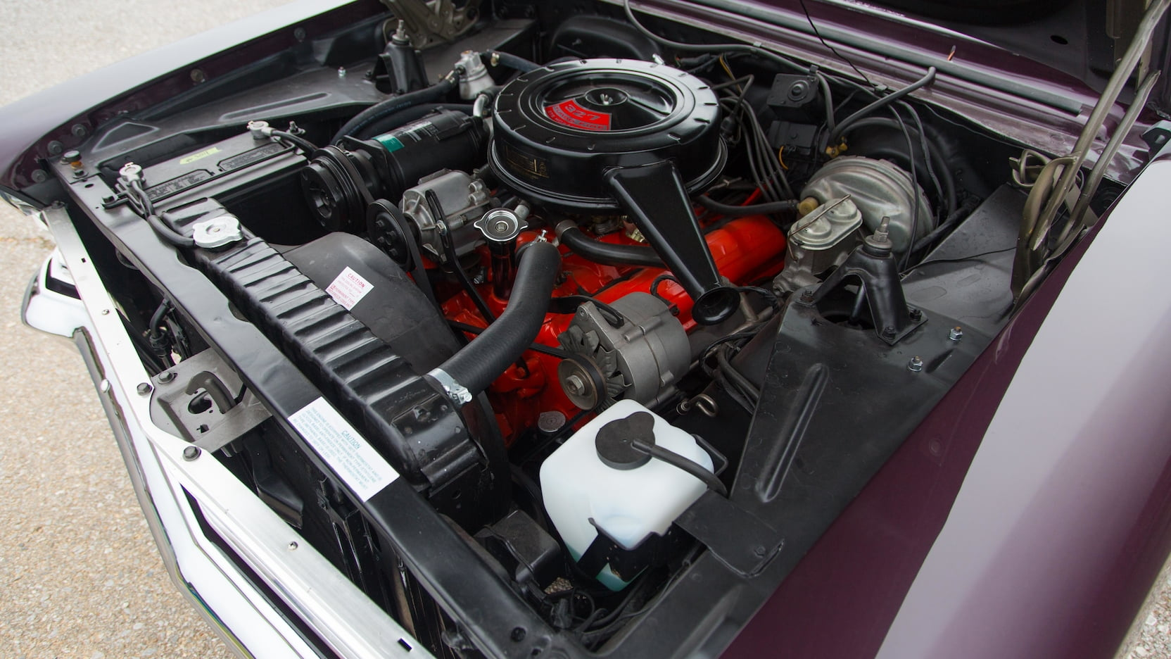 1967 Chevrolet Nova SS engine 327