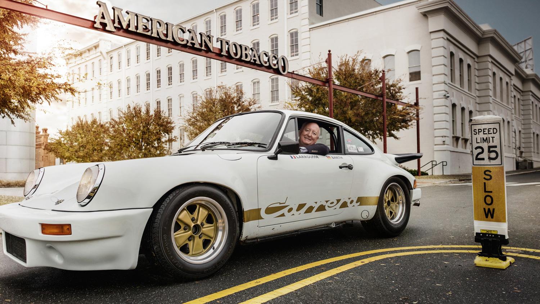 Bob Ingram, Porsche collector, 911 Carrera RS 3.0