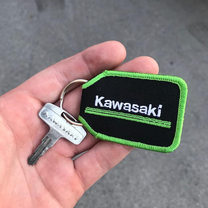 Kawasaki KE175 key