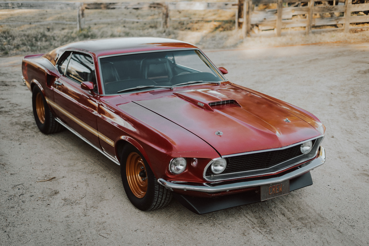 1969 Ford Mustang Mach 1 3/4 front high