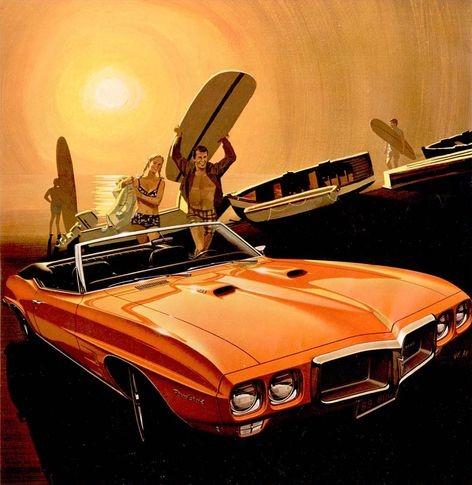 1969 Firebird 400 - Surfers