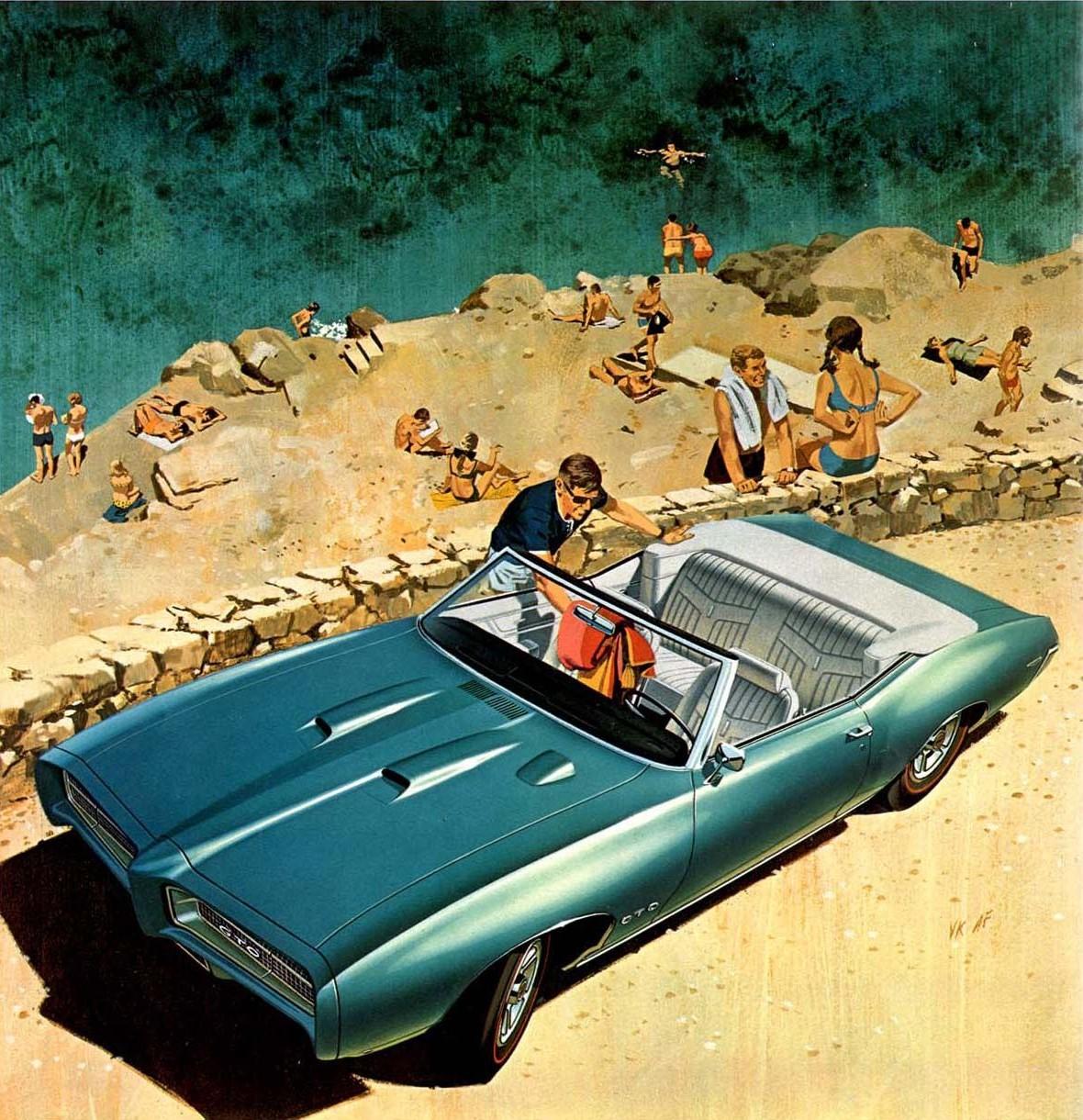 1969 GTO - Beach at Hydra