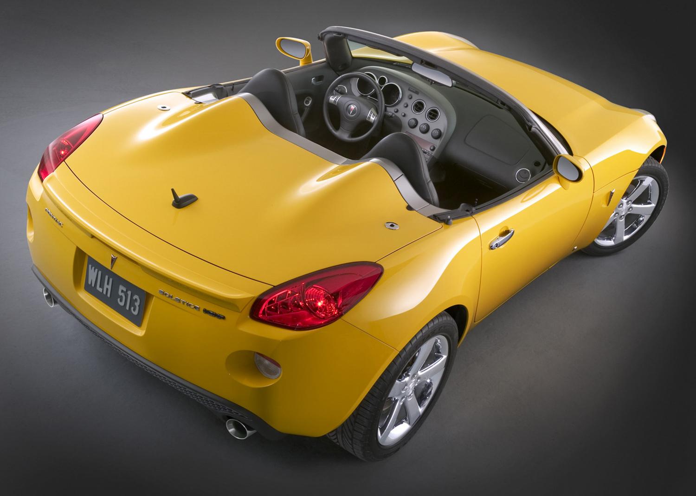 2007 Pontiac Solstice GXP 3/4 rear high