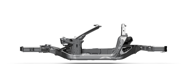 Chevrolet Corvette hydroformed frame rails