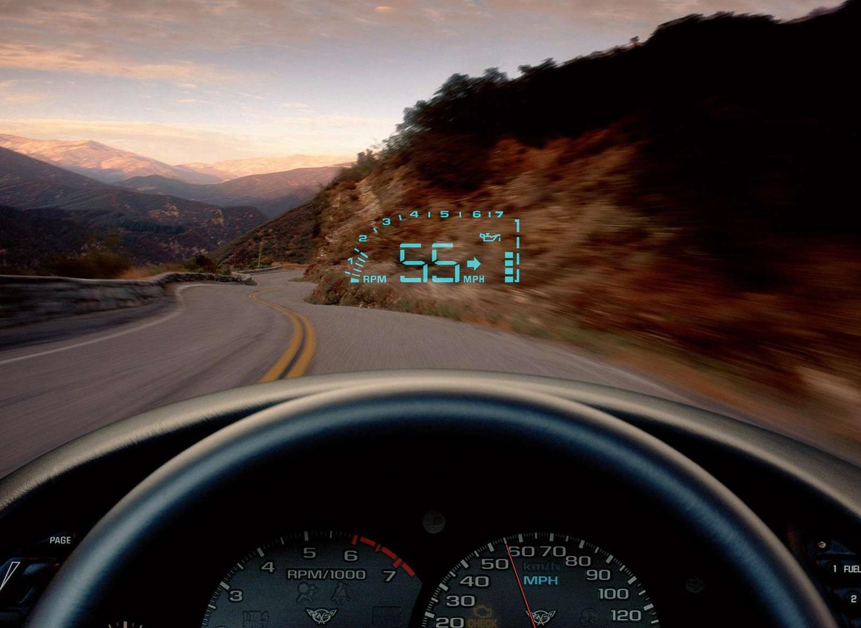 C5 Corvette HUD