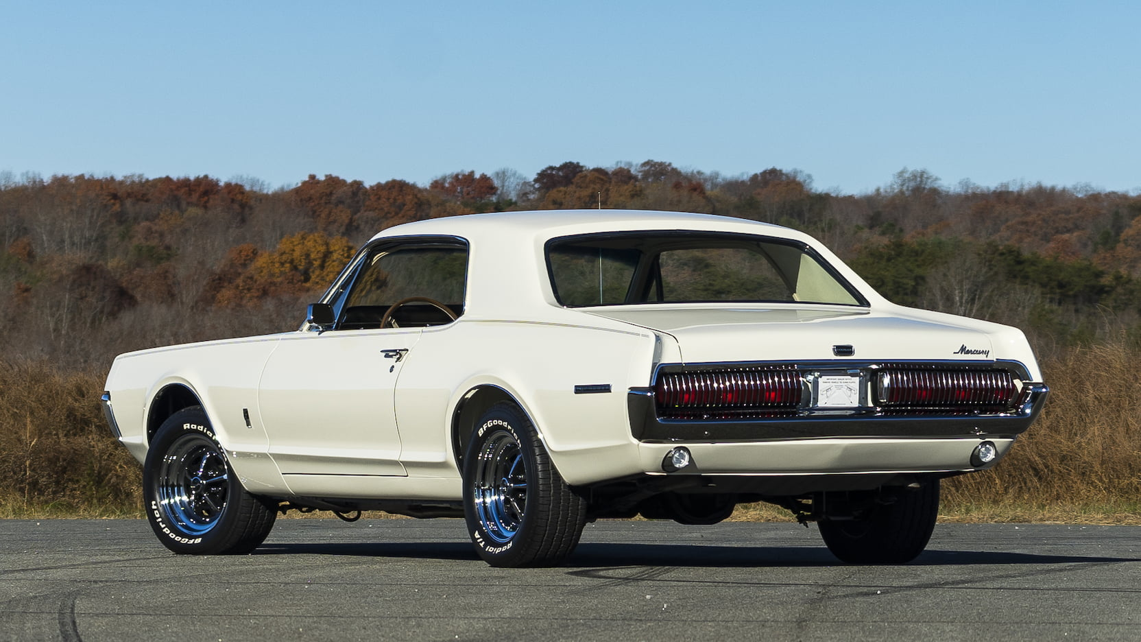 1967 Mercury Cougar 3/4 rear