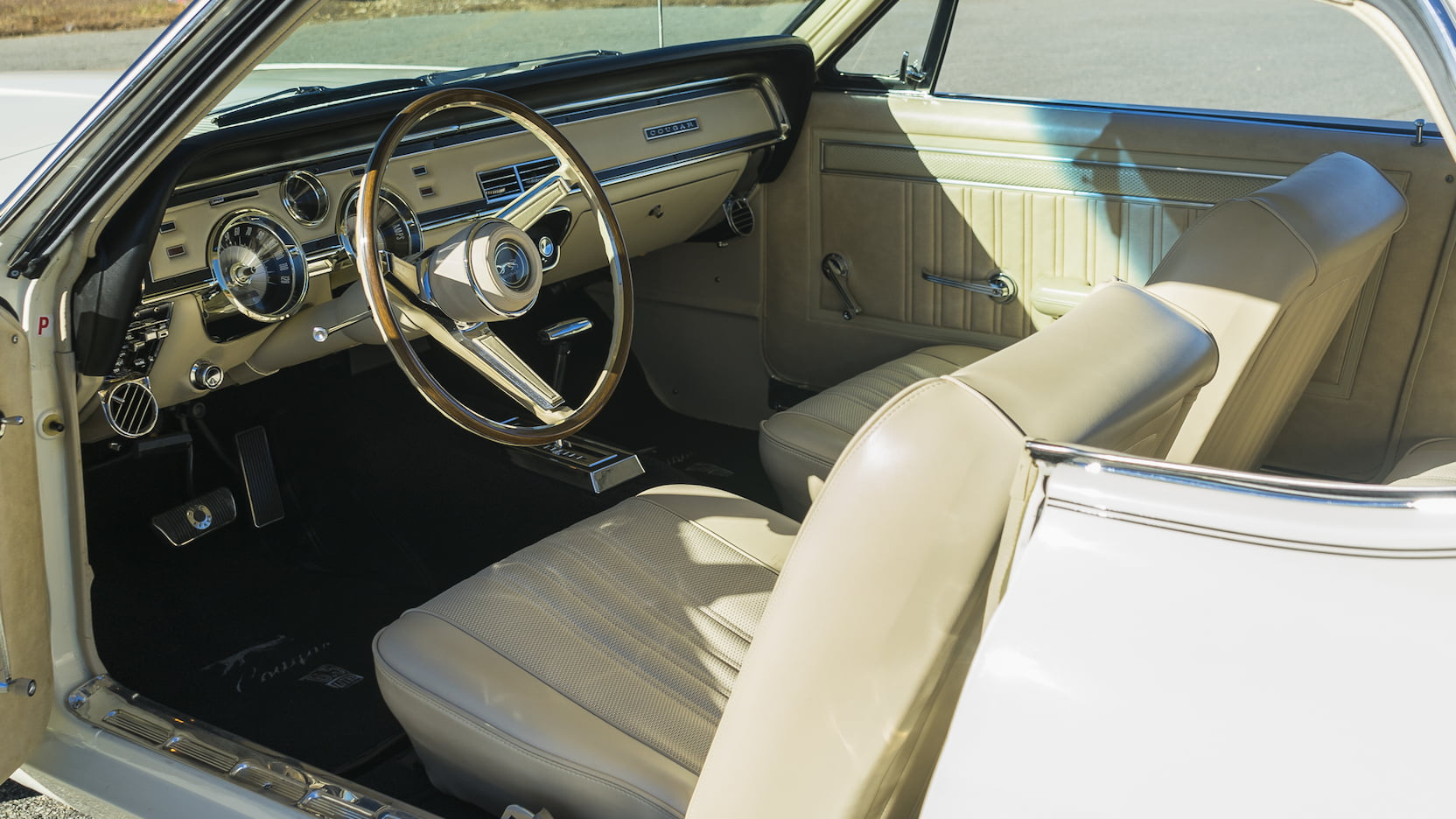 1967 Mercury Cougar interior