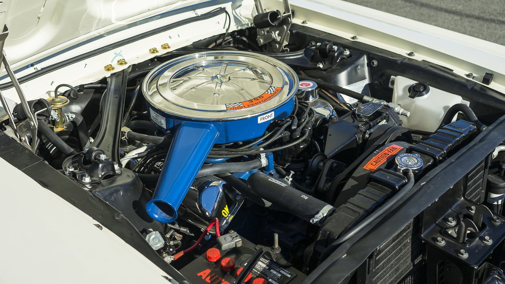 1967 Mercury Cougar engine