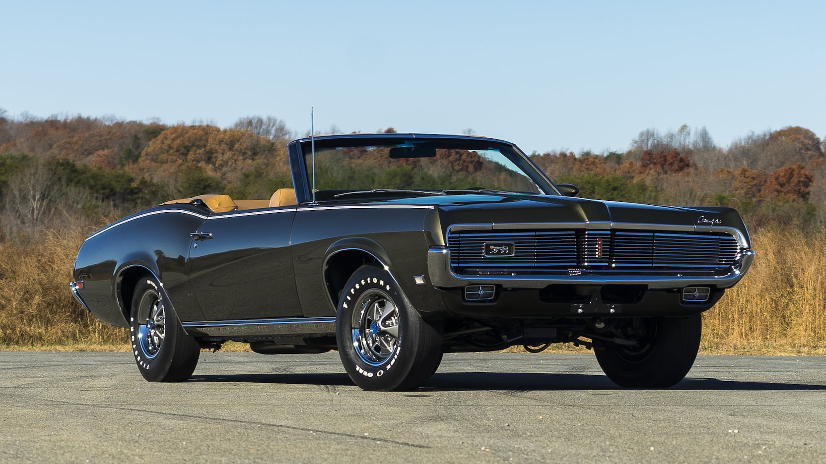 1969 Mercury Cougar 3/4 front
