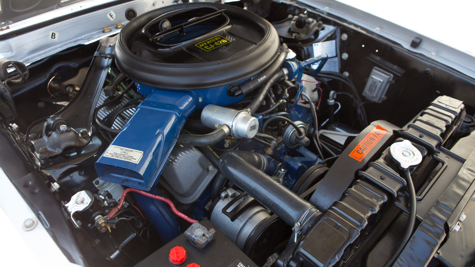 1969 Mercury Cougar engine cobra jet