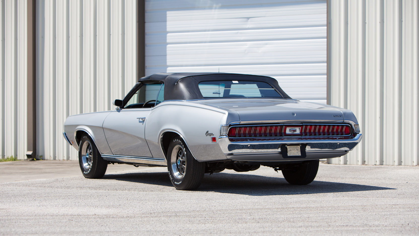 1970 Mercury Cougar XR-7 3/4 rear